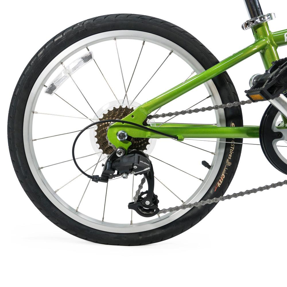 Burley Piccolo aanhangfiets wiel detail