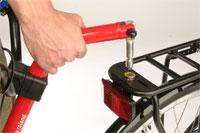 Koppeling voor Roland Add+Bike aanhangfiets