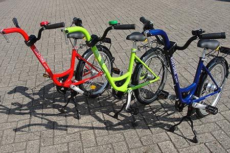 Roland Add+Bike Freewheel aanhangfiets 3 kleuren