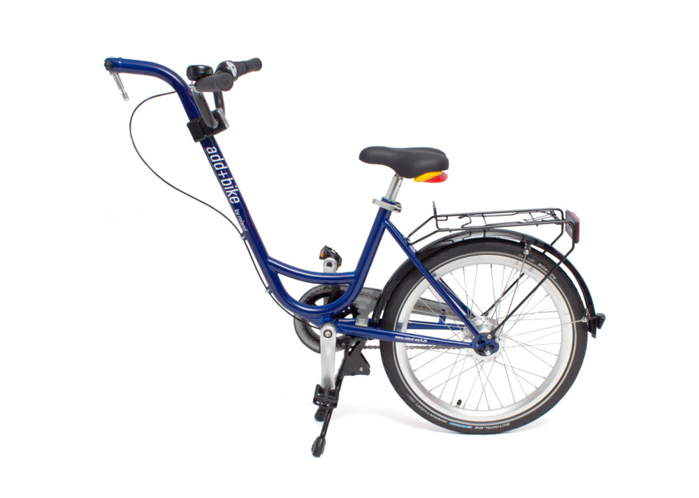 Roland Add+Bike aanhangfiets met versnellingen blauw
