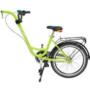 Roland Add+Bike aanhangfiets met versnellingen groen
