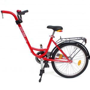 Roland Add+Bike aanhangfiets met versnellingen rood