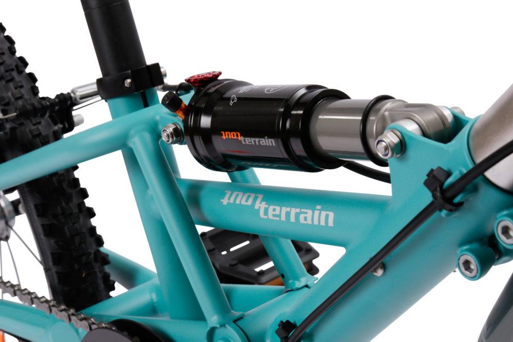 Tout Terrain Streamliner aanhangfiets Turquoise