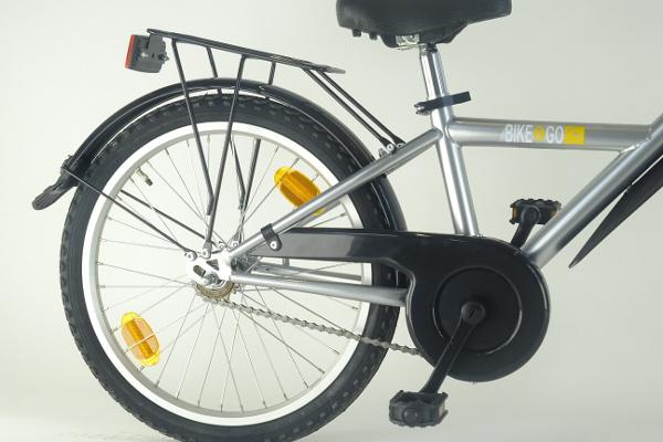 Bike2Go zadelpen aanhangfiets aandrijflijn