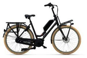 E-bike accu rond onderbuis